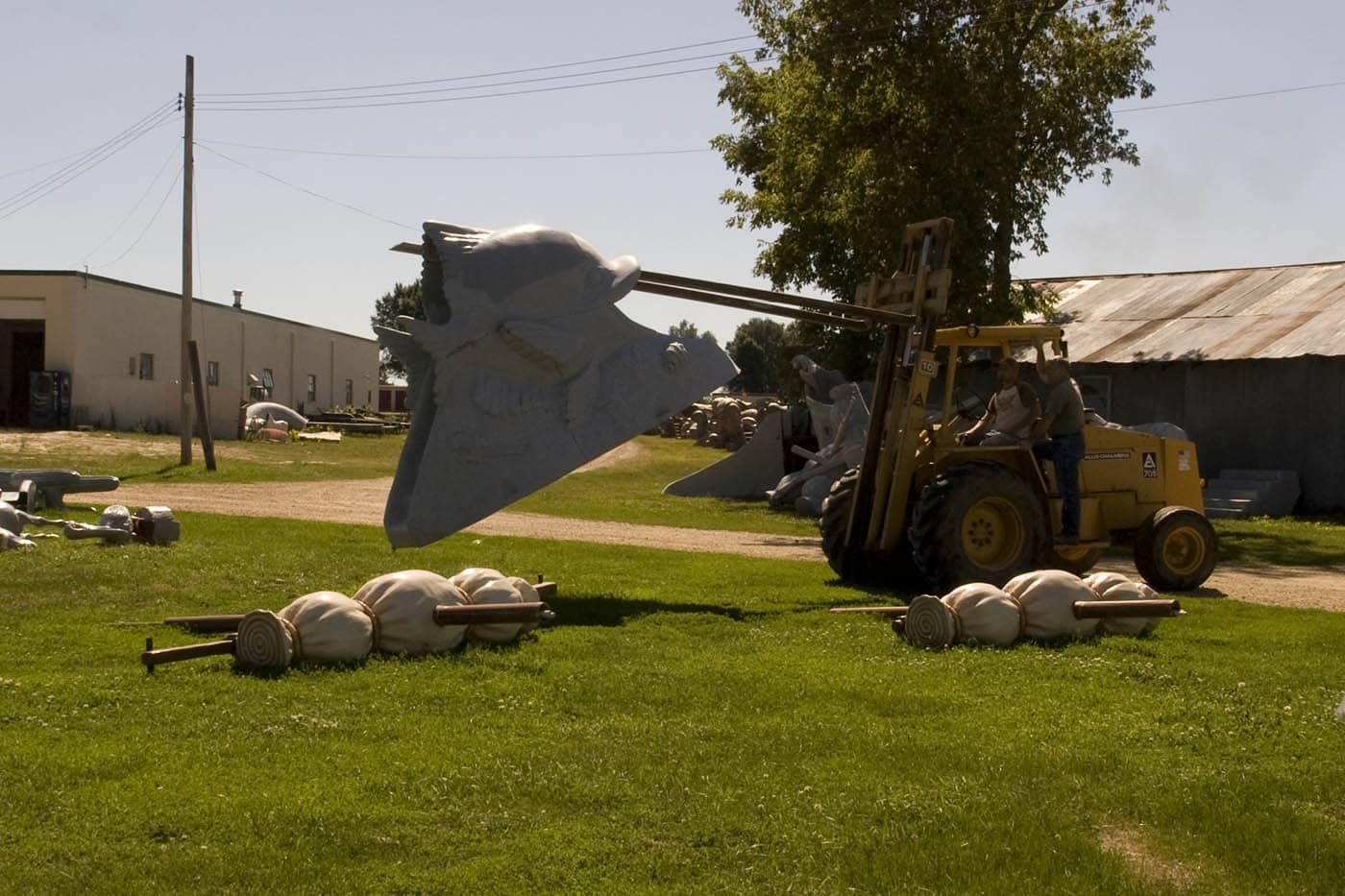 Moving Fiberglass Works - F.A.S.T. - Fiberglass Animals, Shapes & Trademarks in Sparta, Wisconsin