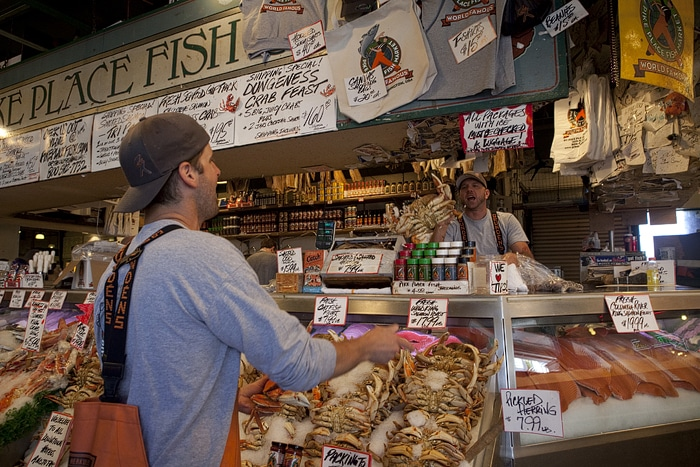 Pike place fish market part 3 tourist traps in seattle for Pike place fish market video