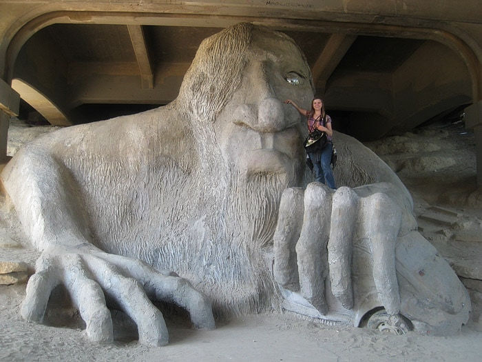 Me and the Fremont Troll
