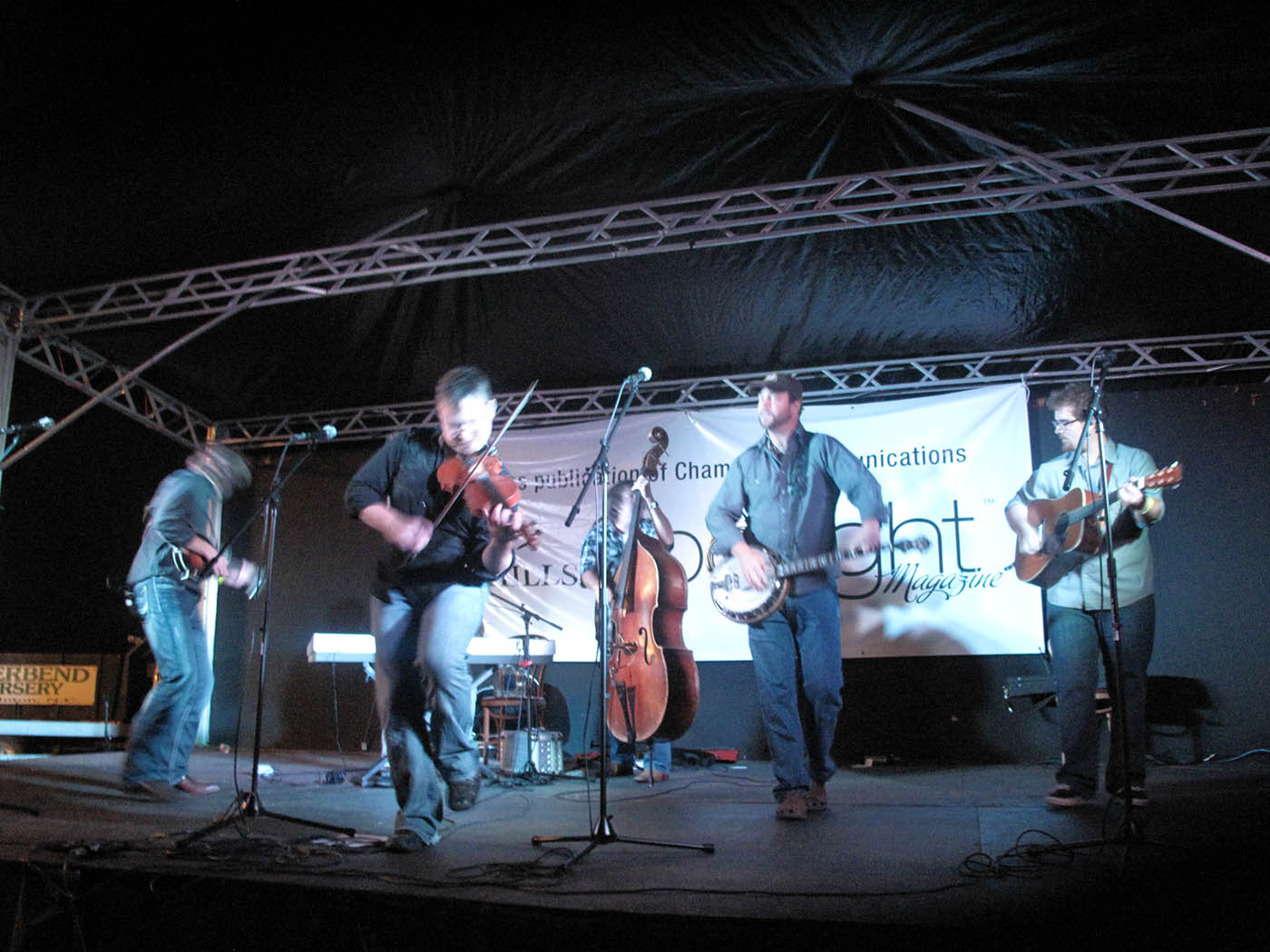 """Mountain Heart at RedBone Willy's Bluegrass Festival"""""""