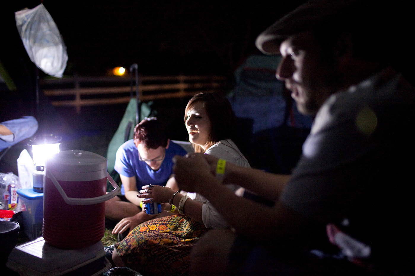 Camping at RedBone Willy's Bluegrass Festival